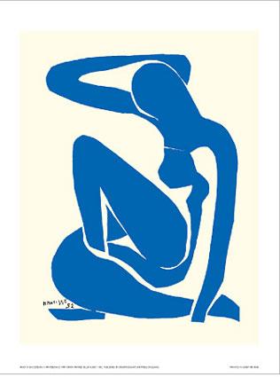 Blue Nude, Matisse