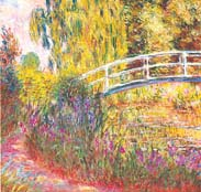 Japanese Bridge, by Claude Monet