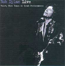 Bob Dylan Live, on sale at Amazon