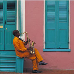 French Quarter Morning, by Bob Krist