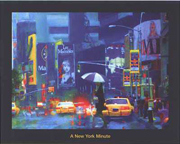 New York Minute, by Richard M Swiatlowski