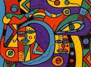 Semi-Abstract I, by Horst Kordes
