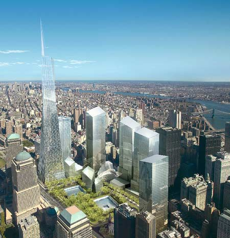 new World Trade Center site design