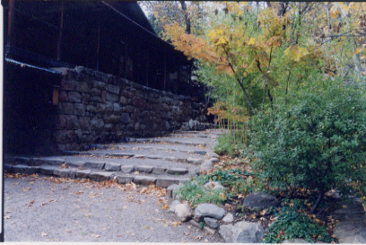 zendo stairs
